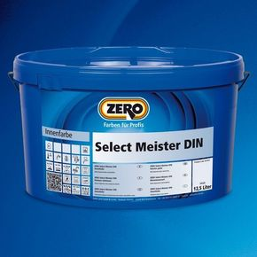 ZERO SELECT MEISTER DIN